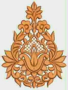 Indiese Vryhand styl Patch