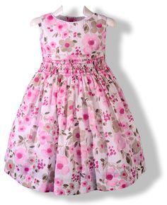 Vestidos floreados de niña 4