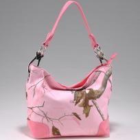 **FREE SHIPPING**NO SLICE**Pink Camo Tote Bag