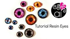 How to make Resin Eyes Cabochon | DIY Tutorial