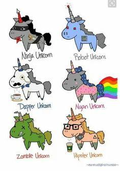 All the unicorns!