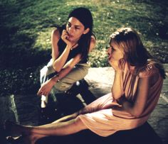 Sofia Coppola with Kirsten Dunst - The Virgin Suicides