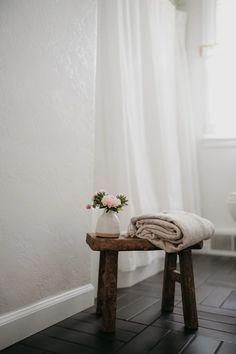 Alyson Morgan | Fireclay Tile Fireclay Tile, Black Tiles, Tub Surround, Bathroom Floor Tiles, Style Tile, Room Paint, Dark Side, Spotlight, Thin Brick