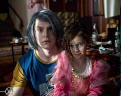 X-Men Days of Future Past. Is that Quicksilver with a child Scarlet Witch? I kinda like this, Wanda being his little sis. That gives him something to protect.