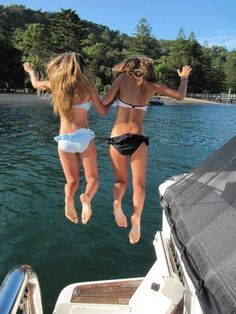 I should do this with the friend I bring to the lake each year.