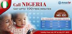 """Happy Friday everyone, have a fun and safe weekend""  GET UPTO 100 FREE MINUTES FROM AMANTEL - COUPON CODE - NIG-100"