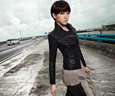 Stylish  Handsome side zippers-Jackets  Cute side zipper jacket