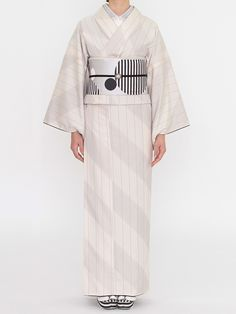 オブリック 紬の着物 | DOUBLE MAISON