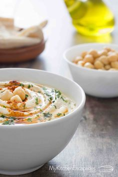 Hummus is a favorite healthy snack idea and I like mine super smooth! This recipe is the best and I have all the tips for a silky dip for your vegetables