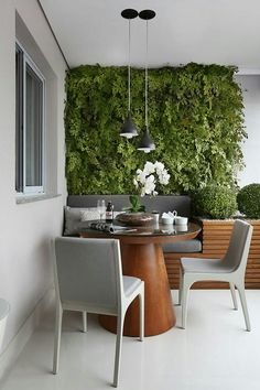 Fascinating Small Balcony Ideas With Relax Seating Area 27 Small Balcony Design, Small Balcony Decor, Balcony Ideas, Patio Design, Patio Ideas, Garden Ideas, House Design, Interior Design Boards, Garden Seating