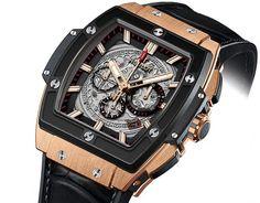 Hublot [NEW] Spirit of Big Bang King Gold Ceramic 601.OM.0183.LR (Retail:CHF 37900) ~ UNBEATABLE PRICE: HK$200,000.