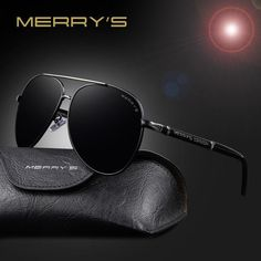 bb345e763e FuzWeb MERRY S Classic Sunglasses Men HD Polarized Aluminum Driving Sun  glasses for Men Luxury Shades UV400 S 8728