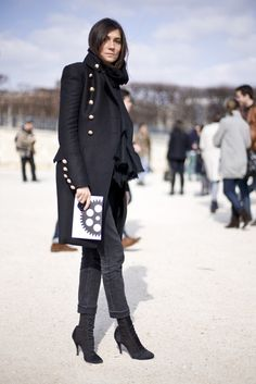 #Jewelry #fashion #Emmanuelle Alt