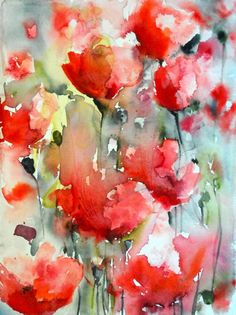 Karin Johannesson Contemporary Watercolour
