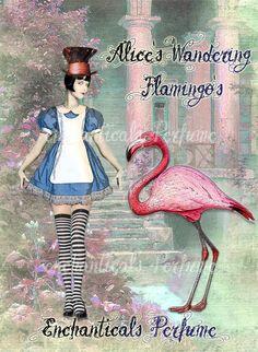 Alice's Wandering Flamingo's Artisan by EnchanticalsPerfume, $10.00