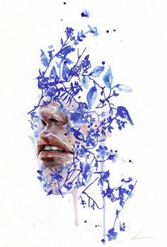"lesstalkmoreillustration: "" Art Prints by Agnes Cecile @agnes-cecile Check us out on Instagram: @Lesstalkmoreillustration """