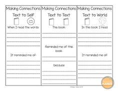 Making Connections Sheet - Printable Worksheet | Making ...