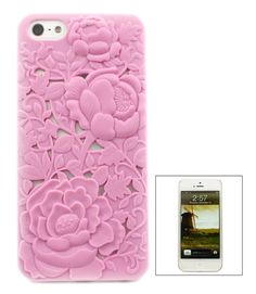 Blush Chrysanthemum iPhone 5 Case | Emma Stine Jewelry Set
