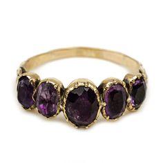 Antique Victorian Amethyst Ring