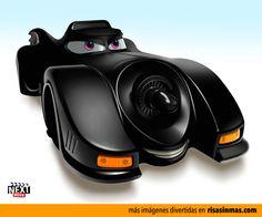 El Batmobile versión Cars.