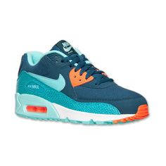Women's Nike Air Max 90 Running Shoes ($90) ❤ liked on Polyvore featuring shoes, athletic shoes, nike, sneakers, evening shoes, nike shoes, special occasion shoes and mesh athletic shoes