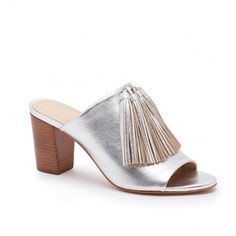 Pin for Later: 19 Cool-Girl Mules You'll Wear Everywhere This Spring  Loeffler Randall Clo Tassel Slide ($395)