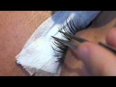 How I do lash extensions - YouTube