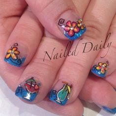 @jvnaildesign ha jimmy Buffett nails