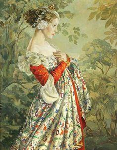 Catherine La Rose ~ The Poet of Painting: Ethel GABAIN (1883-1950) ✿
