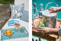 Mimosa Lane: Product Scoop || Decorum Home Accesories, ice bucket, poolside entertaining, tray, decorum