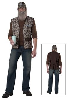 si robertson duck dynasty halloween costume - Jase Robertson Halloween Costume