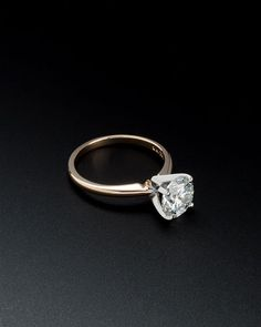 14K 2.00 cttw. Diamond Ring - what perfect looks like at 37.5K