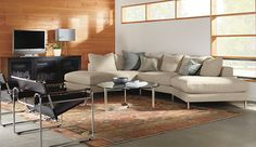 Hayes Sectionals - Hayes Sectional in Tatum Fabric - Living - Room & Board