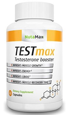 NEED: NutaMax Testosterone Booster