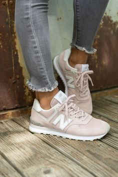 Women shoes Sneakers Trainers - New Balance Women shoes 574 - - - New Balance Women shoes - Women shoes Sandals Flats Sneaker Outfits, Converse Sneaker, New Balance Sneaker Damen, New Balance Shoes, New Balance Women, New Balance Outfit, New Balance Fashion, New Balance Pink, New Balance Sneakers