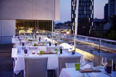 Das Anton - Linz Anton, Places To Eat, Austria, Restaurants, Table Decorations, Furniture, Home Decor, Linz, Tips