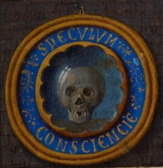 Mirror of Conscience ('Speculum conscientie'), with incipit: 'Speculum conscientie de decem praeceptis' Hours of Joanna I of Castile' or the 'Hours of Joanna the Mad', c. 1486 - 1506, Add MS 18852, f 15r, The British Library.