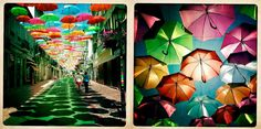 Umbrella Sky in Portugal -