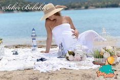 Maternity Photography, Panama Hat, Strapless Dress, Baby Shower, Ideas, Pictures, Strapless Gown, Babyshower, Maternity Photos