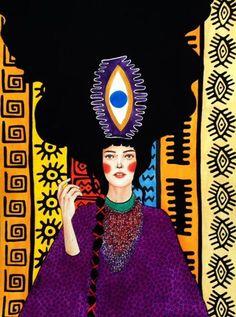 Hülya Özdemir | WATERCOLOR | Her Secret Against Fairy Tales