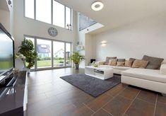Energieeffizientes Einfamilienhaus individuell geplant - Modell Sanderau - Ein Fertighaus von-GUSSEK HAUS