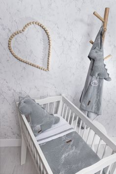 Baby's Only Marble Furniture Nursery Decoration Baby Room Vintage Baby Cot Stuffed Animals - Stofftiere