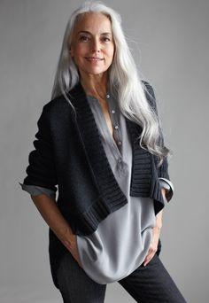 Eileen Fisher styled by Allegra Colletti