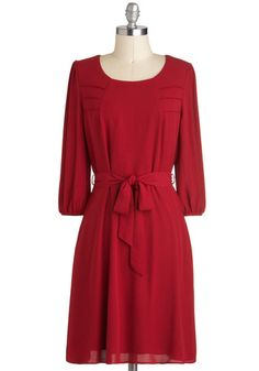 Apple Pie Perfection Dress, #ModCloth. The newest addition to my closet - perfect for the holidays! :)
