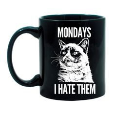 Grumpy Cat Mug. Appreciation Gifts #employees #coworker