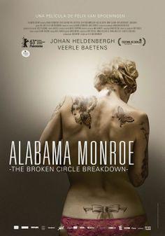 Cartel de la película #AlabamaMonroe de @GolemFilms