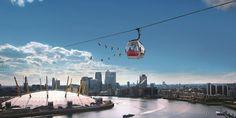 Emirates Air Line, East London, London, England