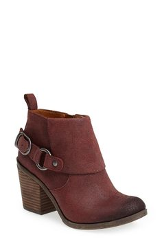 Lucky Brand booties.