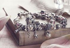 Love Pandora charms & bracelet