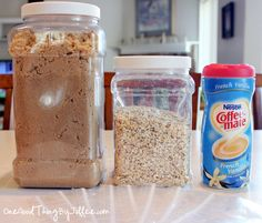 diy oatmeal packets